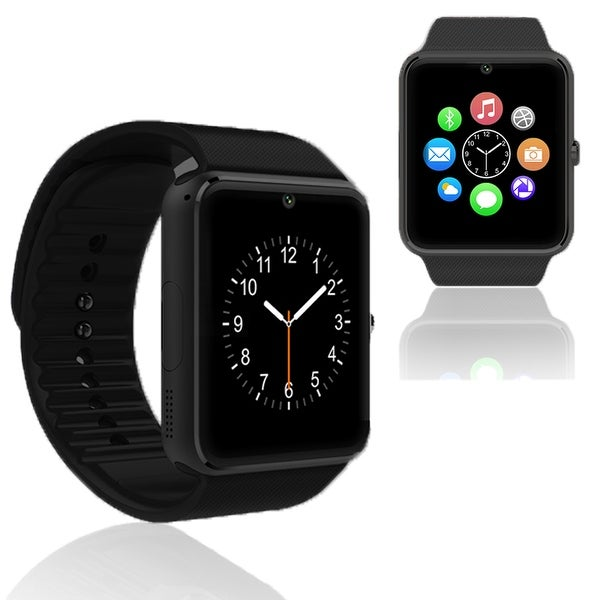 Indigi GT8 Unlocked Universal SmartWatch & Phone - Bluetooth Sync w/ Built-in Camera + Pedometer + Sleep monitor + SIM Slot