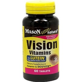 Mason Natural Vision Vitamins Tablets With Lutein 60 ea