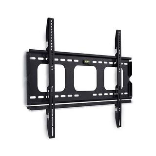 Mount-It! Slim TV Wall Mount Fixed Bracket Fits 32-60 Inch TVs - Black