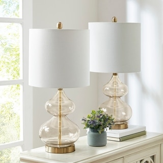 Ellipse Gold Table Lamp (Set of 2) by 510 Design