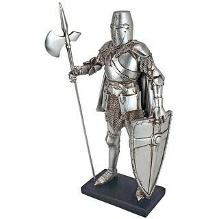 Design Toscano Medieval Nuremberg Castle Guard Gothic Knight Statue