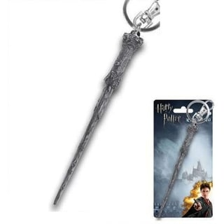 Harry Potter Pewter Key Ring: Harry's Wand - Silver