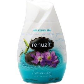 Renuzit Serenity Collection Gel Air Freshener, Relaxing Spa 7 oz