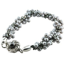 BeadSmith Kumihimo Bracelet Jewelry Kit, Do It Yourself, Dusk & Dawn