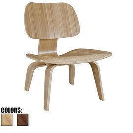 2xhome - Eames Plywood Lounge Chair Eames Chair Plywood Low Lounge Chair for Living Room Wood Chairs Accent Seat Ash or Walnut