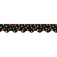 Creative Teaching Press Dots on Black Border Trimmer Set