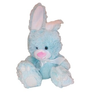 Animal Adventure Plush Toy Sitting Bunny W Bow