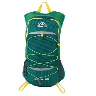 Unique Bargains Camping Hiking Climbing Backpack Cycling Daypack Outdoor Sports Bag Green