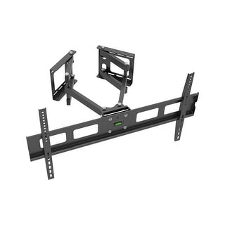 Monoprice Cornerstone Series Full-Motion Articulating TV Wall Mount Bracket For TVs 37in to 63in, Max Weight 132lbs, VES