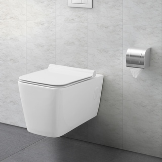 Swiss Madison Concorde® Wall Hung White Toilet Bowl