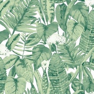 Tropical Peel and Stick Wallpaper