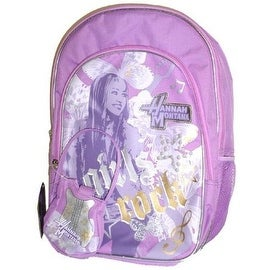 Disney Hannah Montana Girls Rock School Backpack