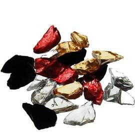CYS® Vase Filler Glass Crushed Sand, Mixed, 1 lbs bag (8 bags) GGM013MX
