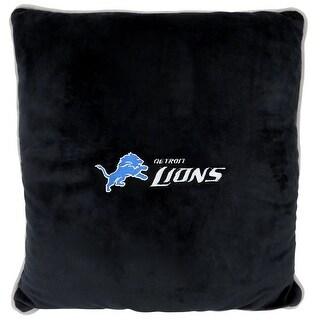 NFL Detroit Lions Licensed Pillow. Comfortable, Soft-Plush Top-Quality for Pets, Kids, Sofa