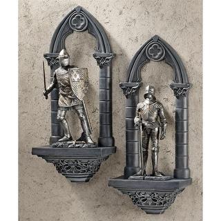 Design Toscano Knights of the Realm Wall Sculpture: Sir Gavin & Sir Samuel