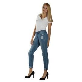 Lola Sadie-ABL, Mid Rise Boyfriend Jeans With 4-Way Stretch Technology