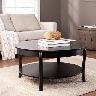 Copper Grove Angela Transitional Wood Cocktail Table