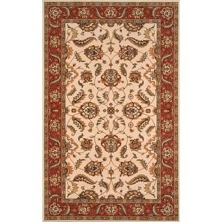 Momeni Persian Garden Ivory NZ Wool Rug (8' X 10')