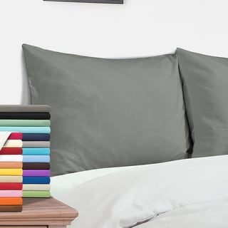"NTBAY Microfiber Pillowcases Set of 4, 20""x30"" Queen Pillow Cases"