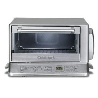 Cuisinart TOB-195 Exact Heat Toaster Oven Broiler, Brushed Chrome
