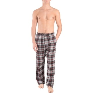 Rugged Frontier Men's Flannel Plaid Casual Sleepwear Lounge Pants