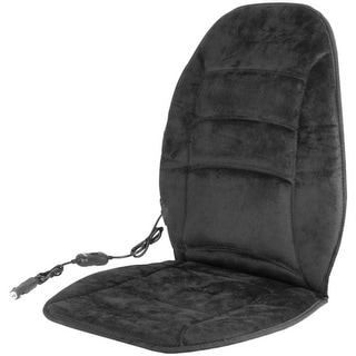 Wagan Tech(R) 9448 12-Volt Deluxe Velour Heated Seat Cushion(TM)