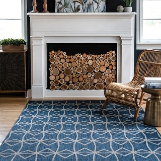 nuLOOM Saunders Geometric Indoor/Outdoor Area Rug