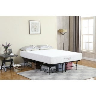 Porch & Den Brooks Bend Foldable Metal Platform Bed Frame
