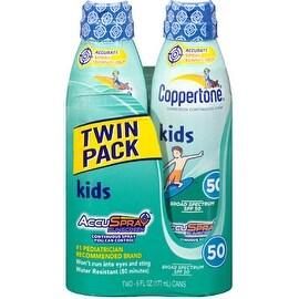 Coppertone Kids Continuous Spray Sunscreen SPF 50 12 oz