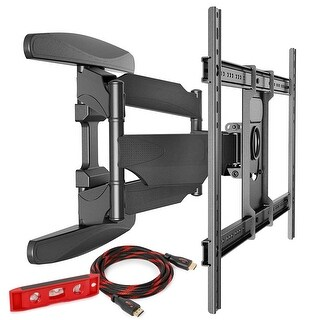 "Full Motion TV Wall Mount 40-70"" Compatible by Mountio"