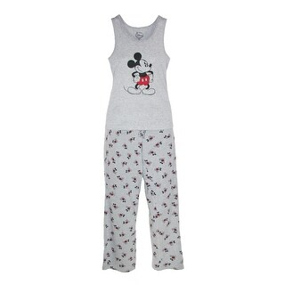 Disney Mickey Mouse Women's Tank and Pant Pajama Set