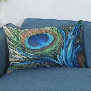 Vintage Retro Peacock feather Pillow Case 21302565-573