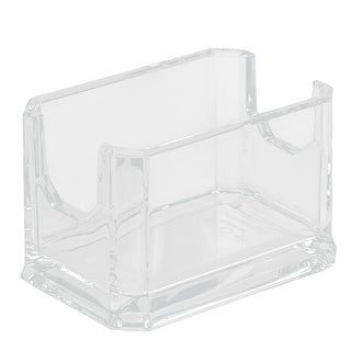 Coffee Shop Sugar Tea Bag Packet Holder Container Clear