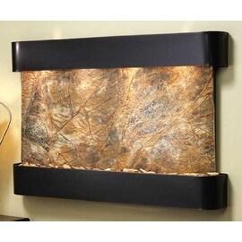 Adagio SSR1506 Sunrise Springs - Brown Rainforest Marble Wall Fountain