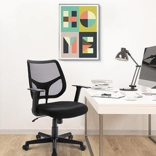 Ergonomic High Back Adjustable Height Mesh Office Chair
