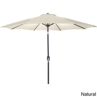 Jordan Manufacturing 9-foot Steel Market Umbrella