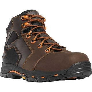 "Danner Men's Vicious 4.5"" Non Metallic Toe Boot Brown/Orange"