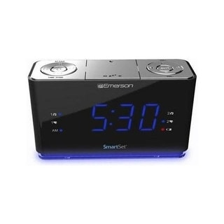 Emerson radio corp. cks1507 smartset alarm clock bt usb