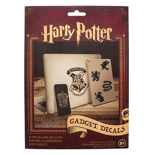 Harry Potter Vinyl Decals, 4 Sheets - Multi