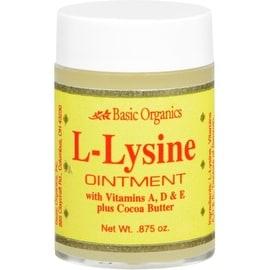Basic Organics L-Lysine Ointment 0.87 oz