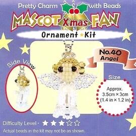 Create Your Own Miyuki Mascot Bead Charm Christmas Ornament Kit - Angel