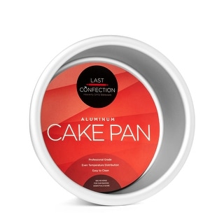 Round Aluminum Cake Pans (Multiple Sizes) - Last Confection
