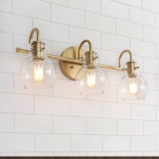 "Modern Bathroom Wall Sconces Gold Vanity Lighting for Powder Room - L22""x W7""x H9"""