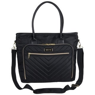 Kenneth Cole Reaction Chelsea Quilted Chevron 15in Laptop & Tablet Business Travel Tote with Removable Shoulder Strap