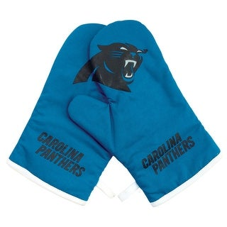 Carolina Panthers NFL Oven Cross Mitt Gloves