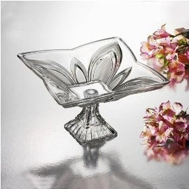 Studio Silversmiths Laurie Large Footed Square Bowl