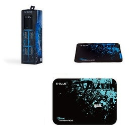 Mazer Black Mediuim Double Layered Mouse Pad for PC