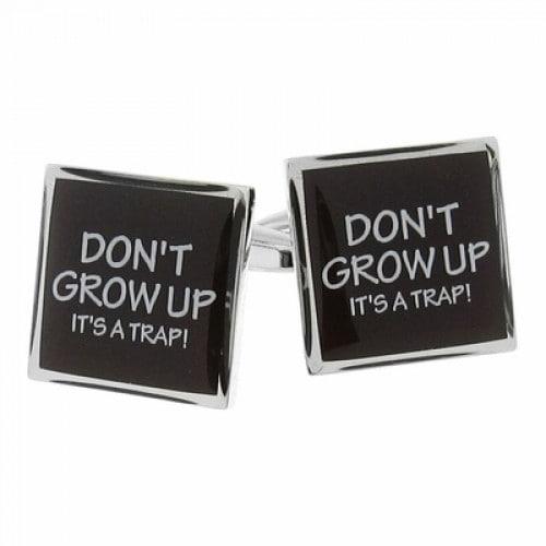 Don't Grow Up Cufflinks