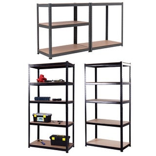 "Gymax 72""x36"" Heavy Duty 5 Level Garage Shelf Storage Adjustable"