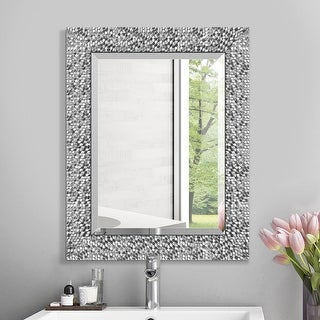 Mirror Trend Framed Mosaic Accent Mirror
